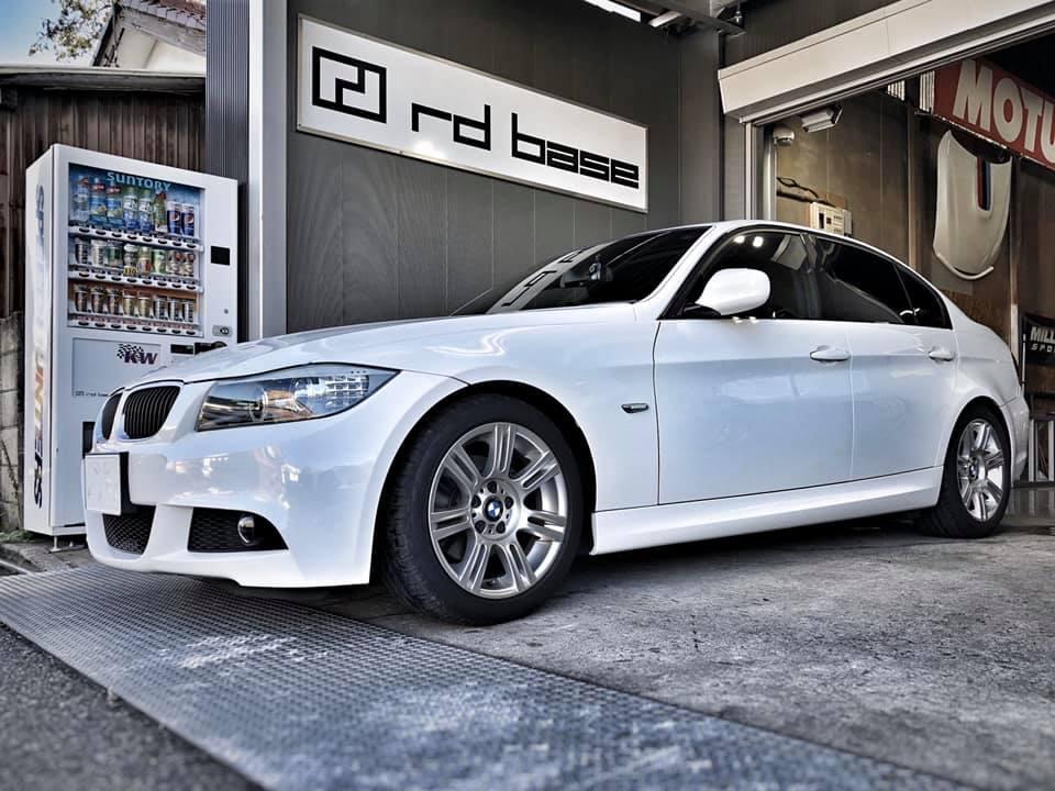 BMW E90にKWストリートコンフォート!