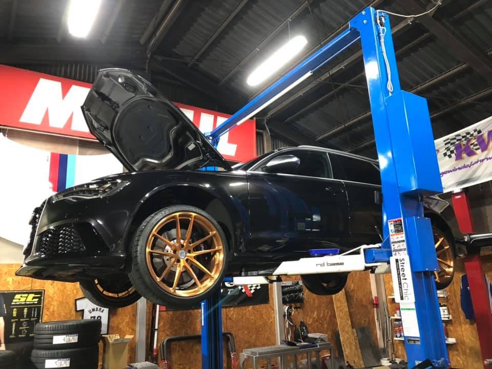AUDI RS6さん A1さん S3さんx2 車検整備!