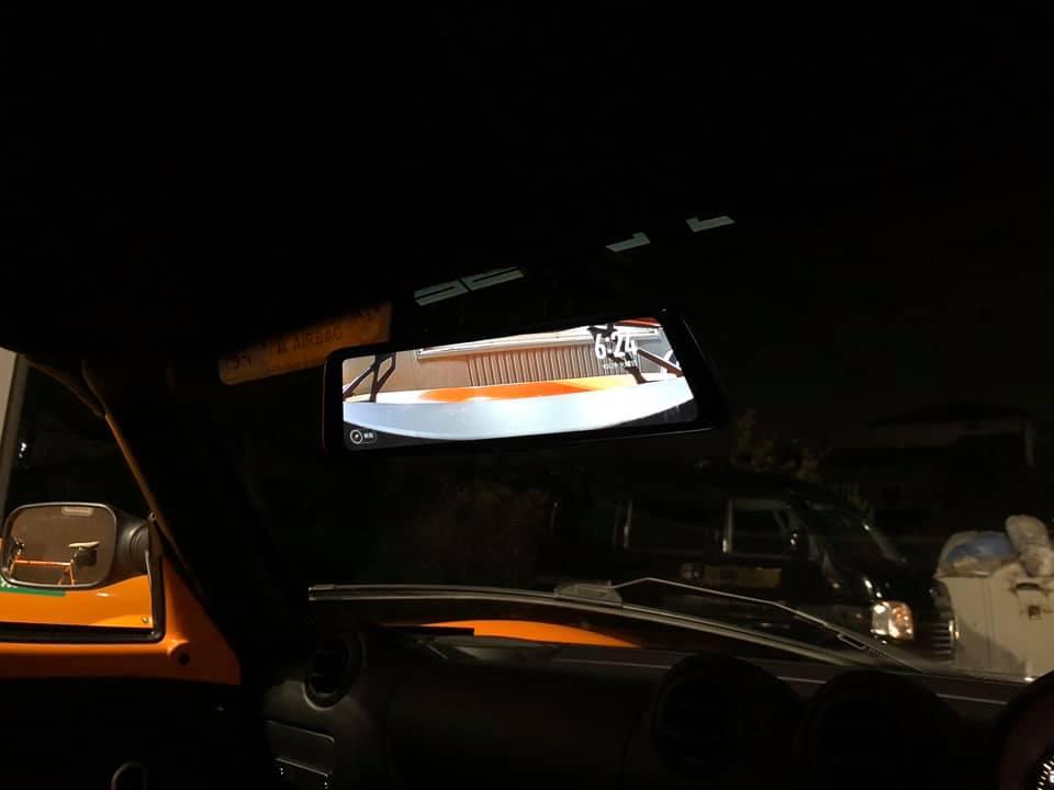 EXIGE 380SPORTにバックモニター取付!