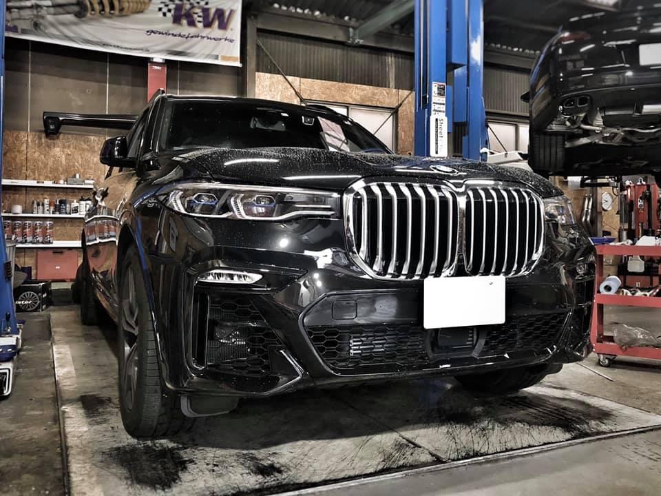 BMW X7 デカ過ぎですっ!