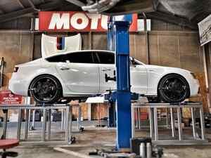 AUDI S5 ブレーキ移植!