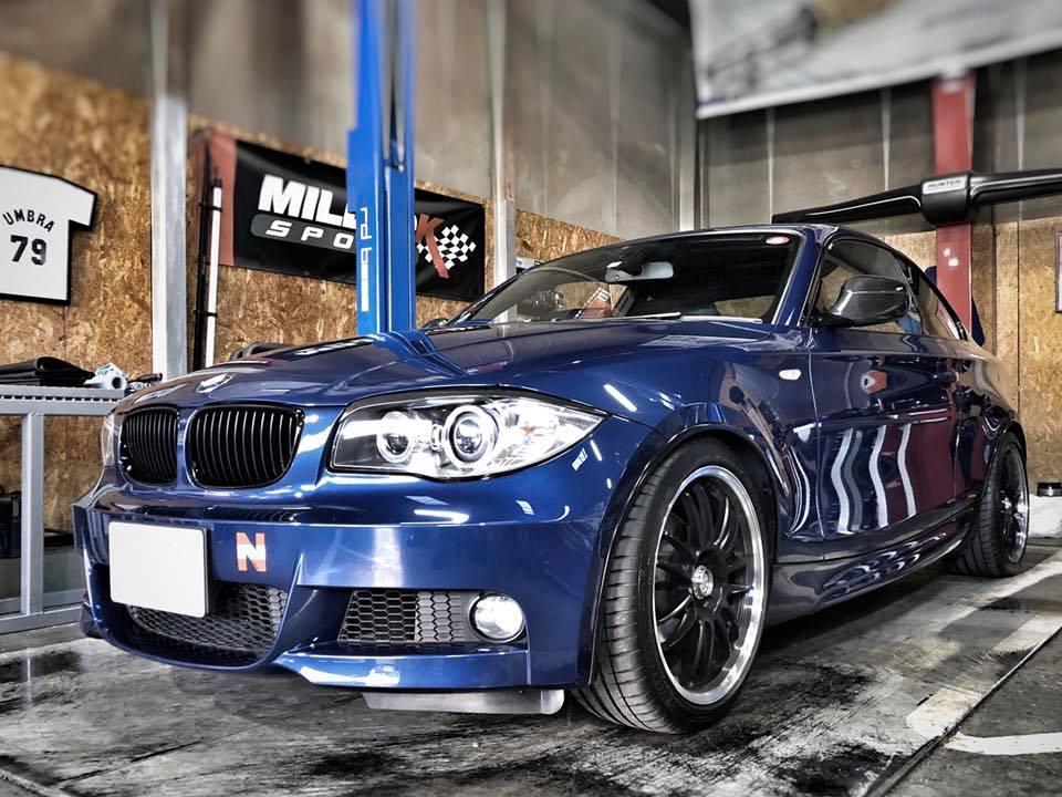 BMW E82にHIGHSPARKイグニッションコイルを装着!