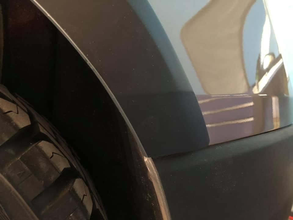 オーバーフェンダー製作にダウングレード化しているV40CC T5の打ち合わせ!