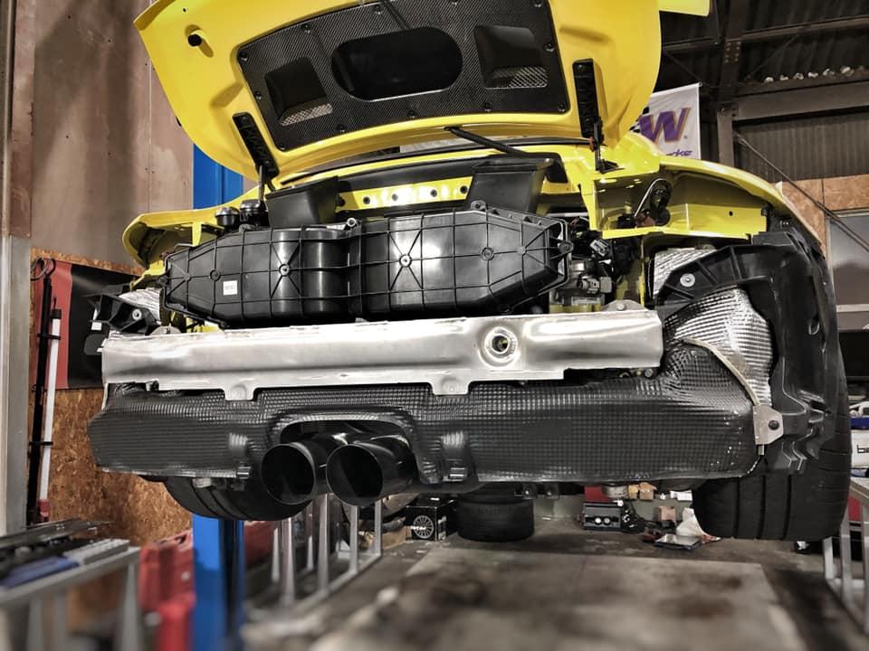 991.2 GT3 バイパスパイプ取付!