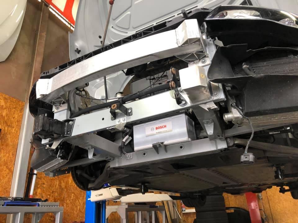FIAT 500  X  AUDI R8!