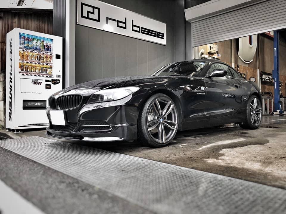 E89Z4にHIGHSPARKイグニッションコイル・BMW純正ハイパワープラグを取付!
