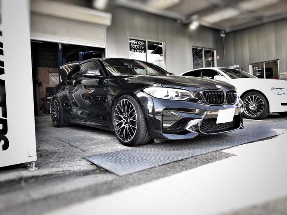 BMW M2 オイル交換のついでにイロイロ!