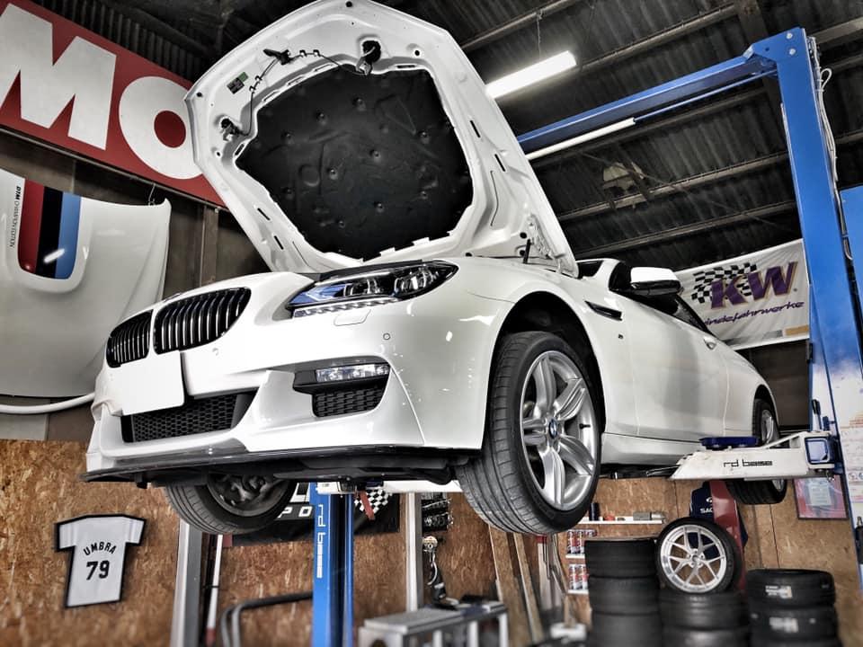 BMW F12にブローオフバルブ!