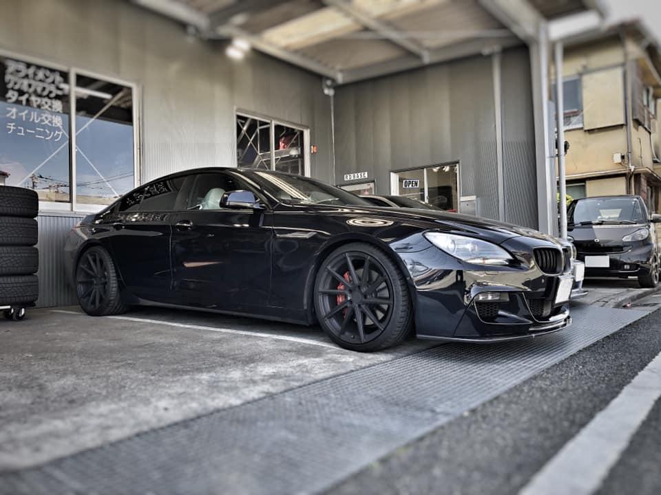 BMW GCに3Dデザイン フロントスポイラー取付!