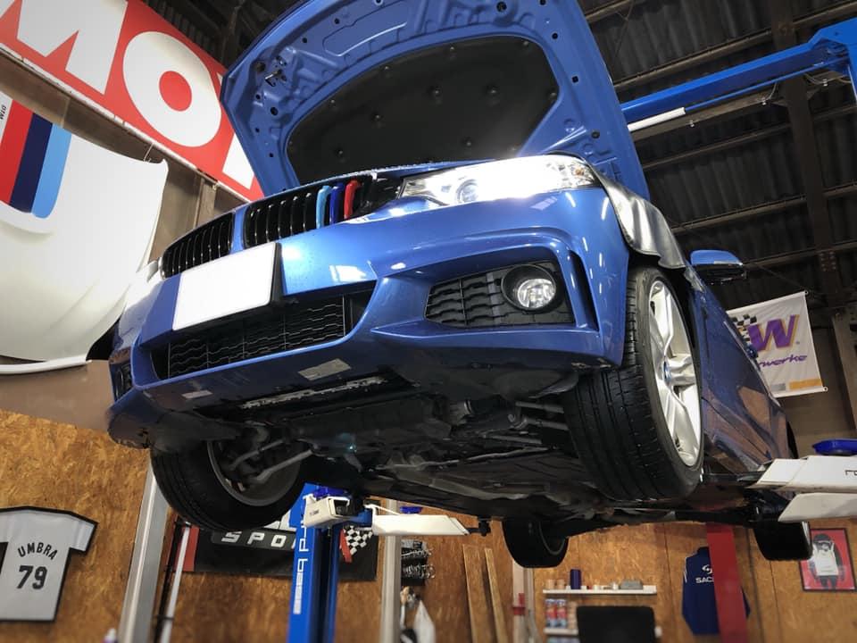 BMW 420 チャージパイプ ブーストパイプ取付!