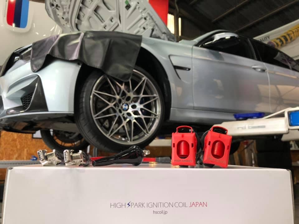 BMW F80M3にフルHIGHSPARK取付!