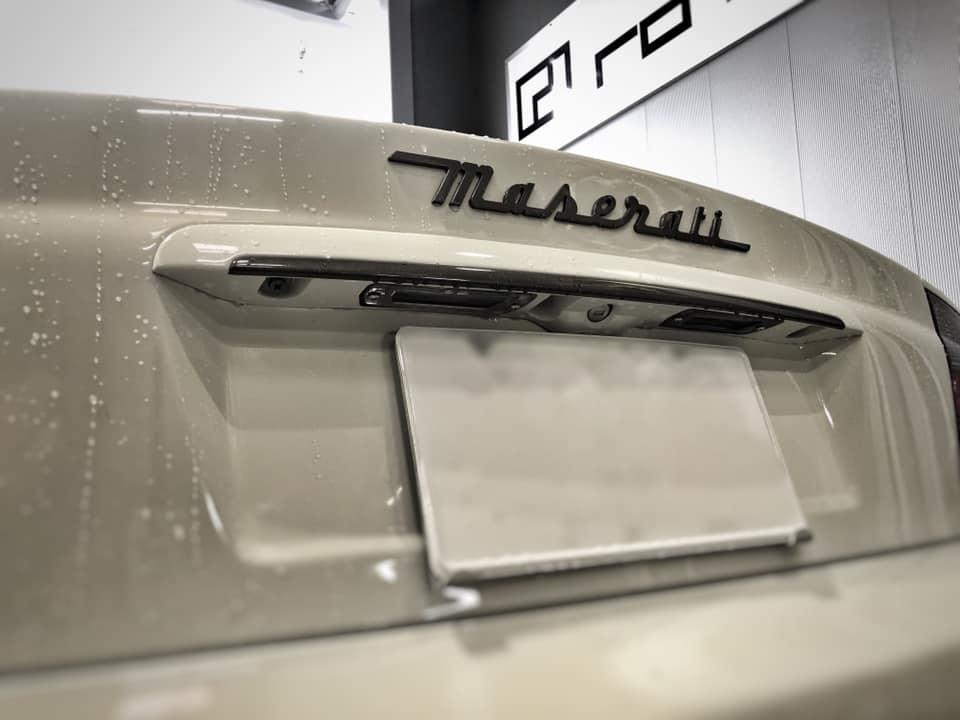 Maserati GranSport 納車までもう少し!