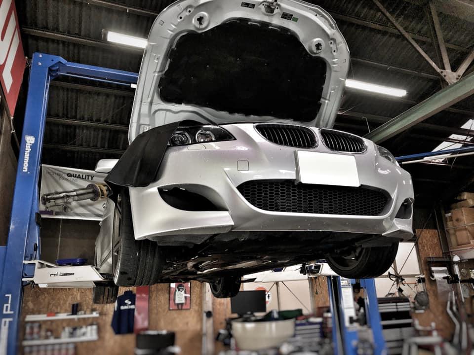 BMW E60 色々とメンテナンス!