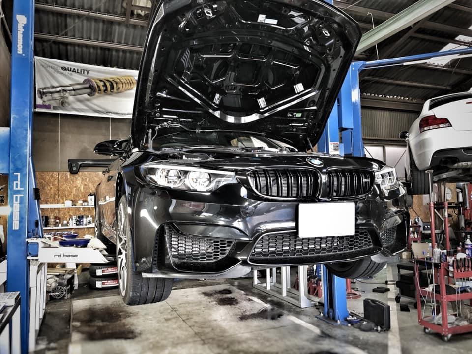 BMW M4 色々と作業!