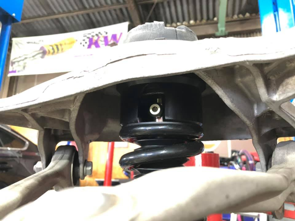 AUDI S5  X  BC RACING!
