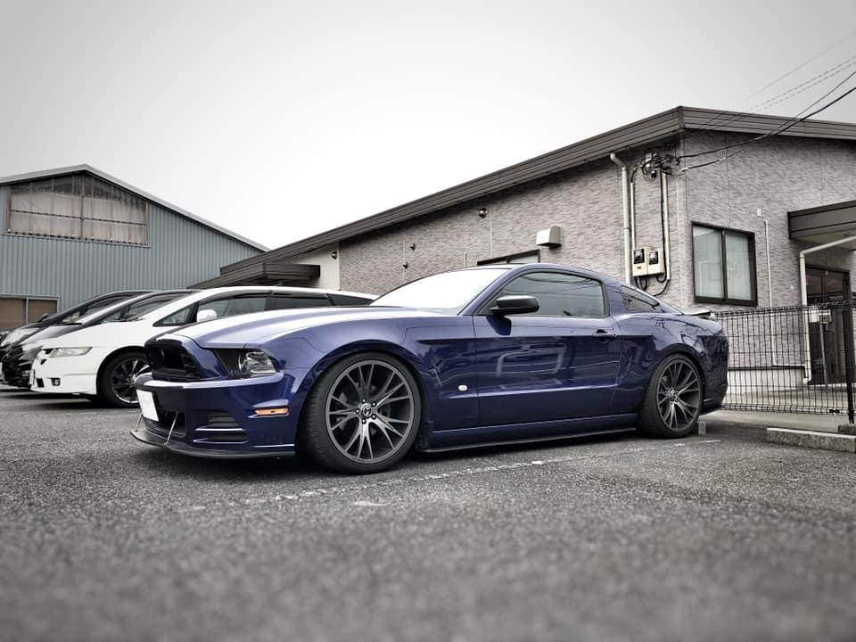 Mustang  X  BC RACING!