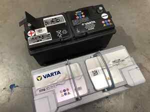 VARTA バッテリー!