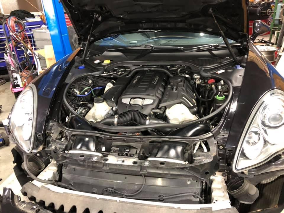 GT3  X  997  X  Panamera Turbo!