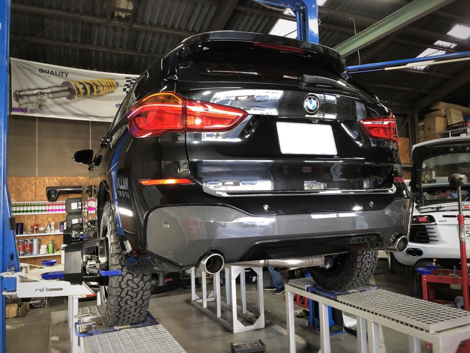 LIFT UP BMW X1!