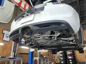 Cayman S  EXバルブ付きマフラー!