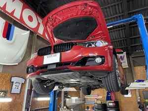 BMWの作業が続きました!