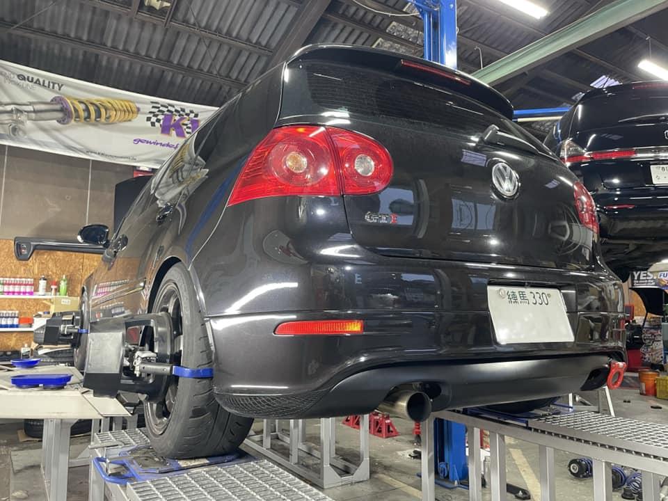 GOLF GTI  X  BC RACING!